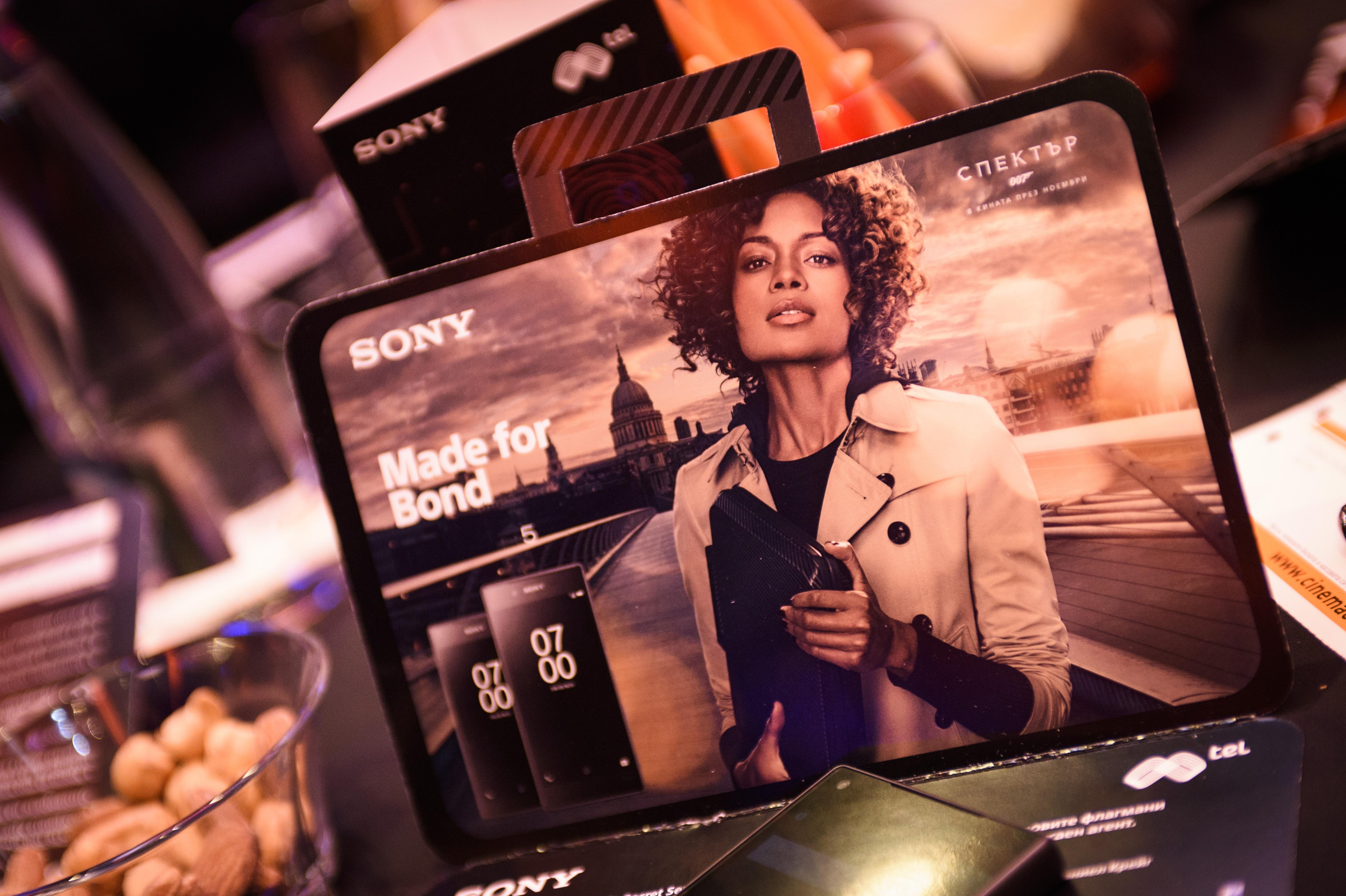 Премиера на новия филм по Джеймс Бонд - Спектър - и на смартфона Sony Xperia Z5