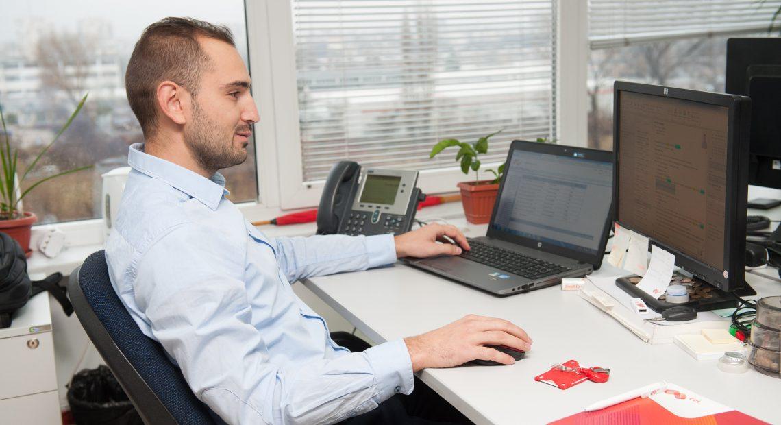 Стоил Терзиев, младши инженер А1 Блог