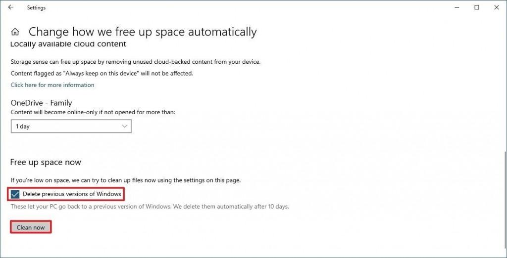 windows 10 Как да освободите пространство на твърдия си диск с Windows 10 А1 Блог