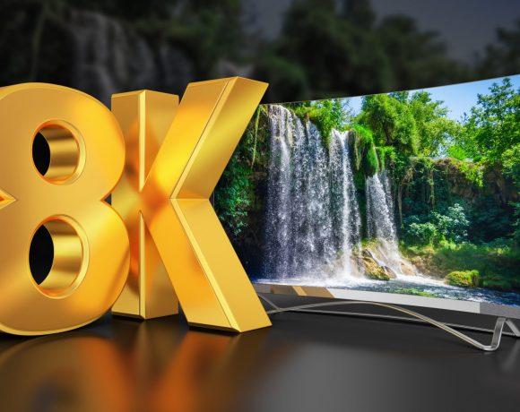 8К телевизия