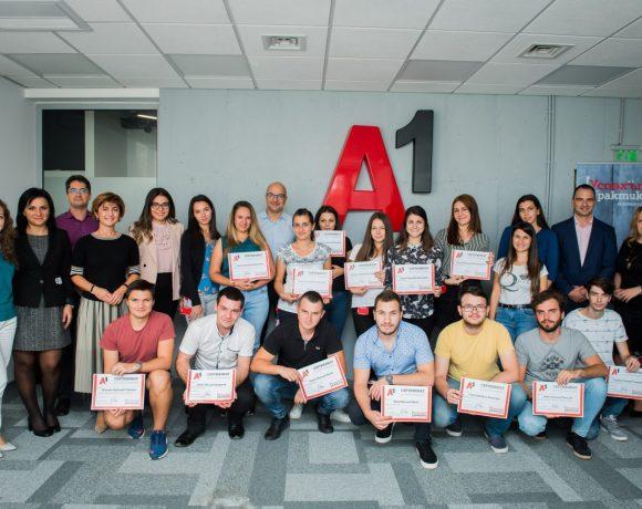 """а1 лятна академия Продължаваме да развиваме амбициозните участници в """"А1 лятна академия"""" А1 Блог"""