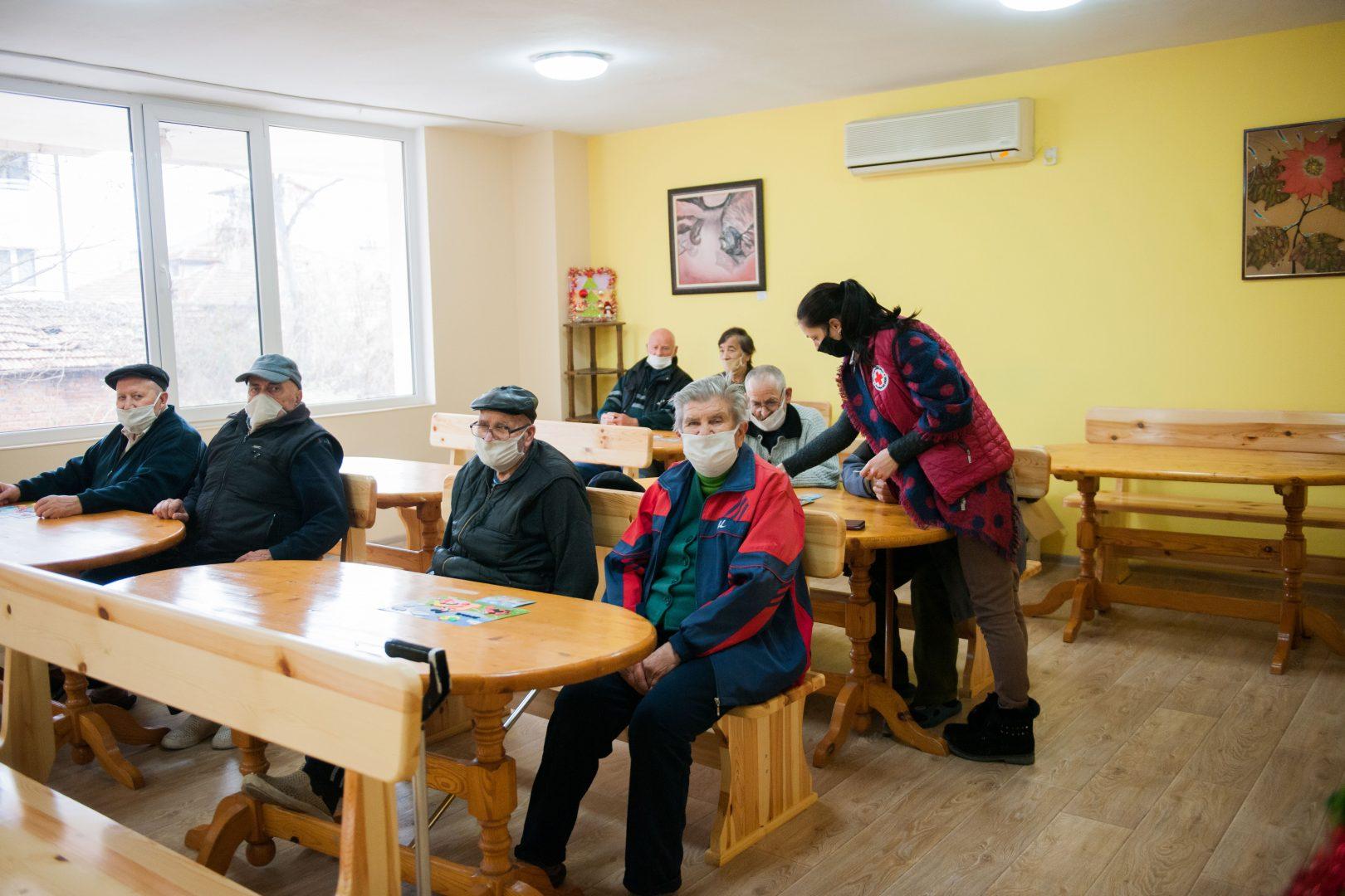 """термокамери БЧК-Кърджали оборудва своя """"Дом за стари хора"""" в града с термотаблети от А1 А1 Блог"""