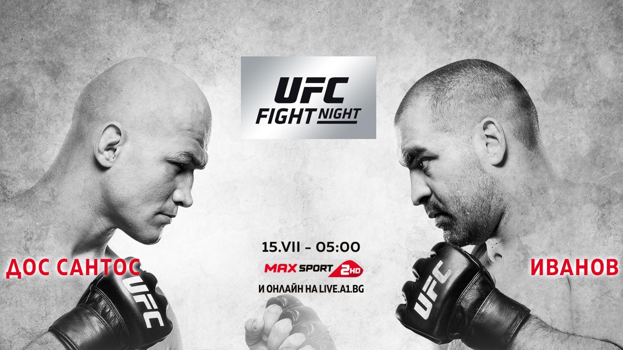 Багата Време е! Благой Иванов-Багата дебютира в UFC А1 Блог