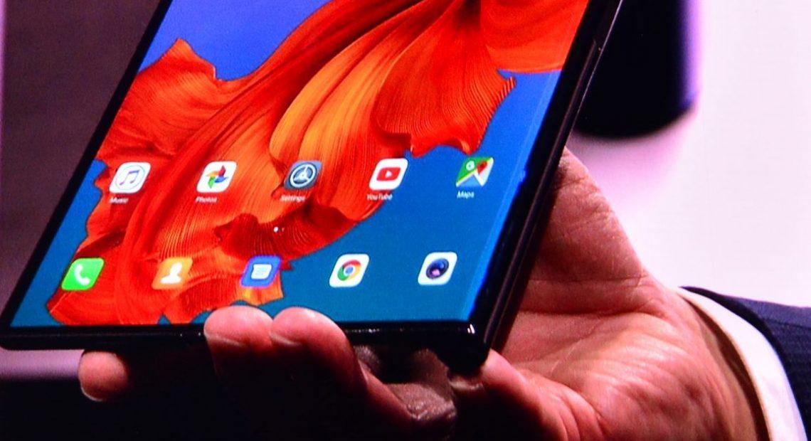 Huawei Mate X: сгъваемият 5G смартфон с диагонал 8 инча! А1 Блог