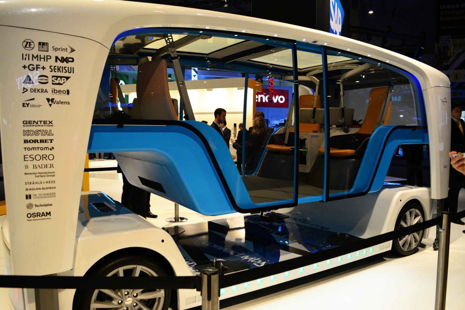 автономен автомобил Има ли място на пътя за безпилотни многофункционални минибусове? (видео) А1 Блог
