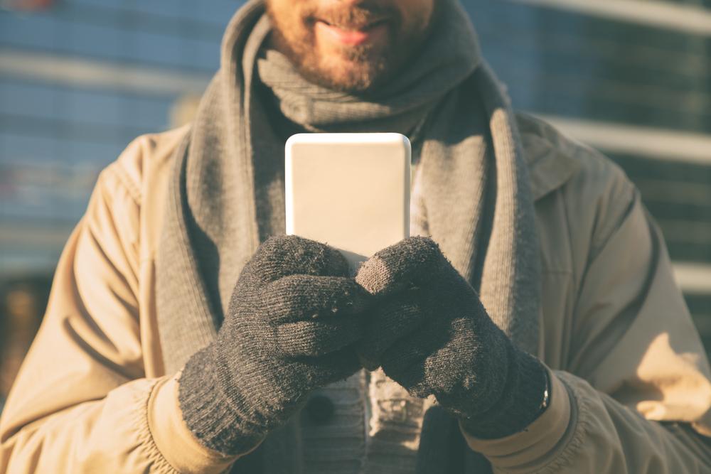 """ръкавици Как да """"разцъкваме"""" смартфона с ръкавици А1 Блог"""