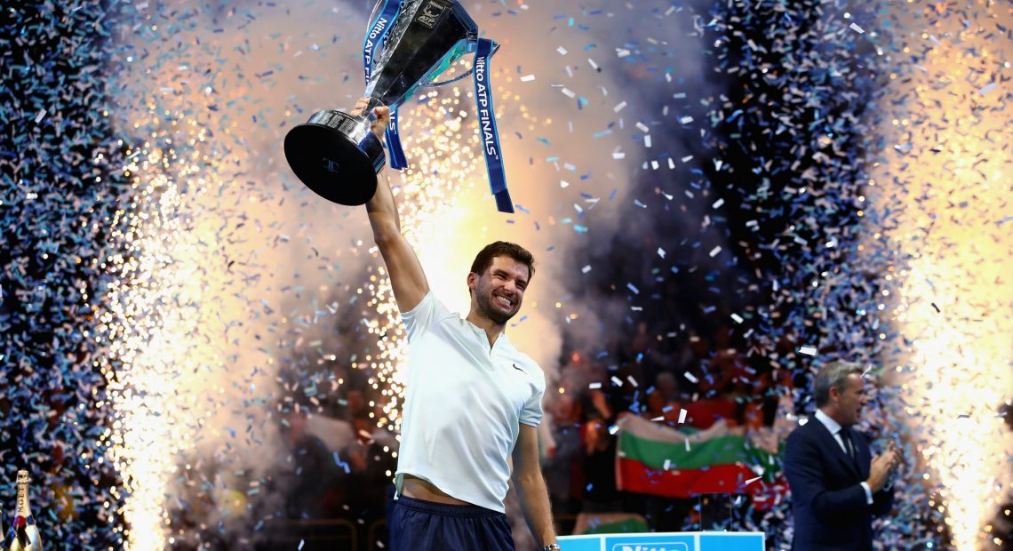 Тенис сезон 2017 е история, а с него изпращаме и най-успешната година в кариерата на Григор Димитров - №3 в света, 49 победи, 4 титли и всенародна любов.