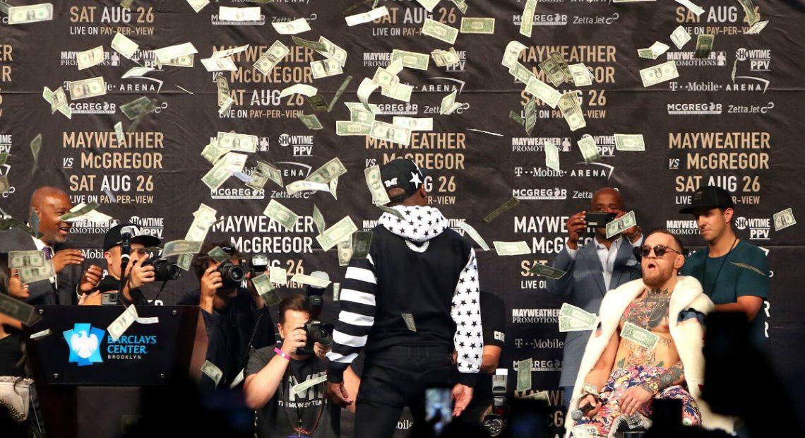 Дами и господа, представям ви мача между Флойд Мейуедър и Конър Макгрегър. Техният сблъсък на 27 август се очаква наистина да счупи интернет и има достатъчно цифри в подкрепа на това твърдение.