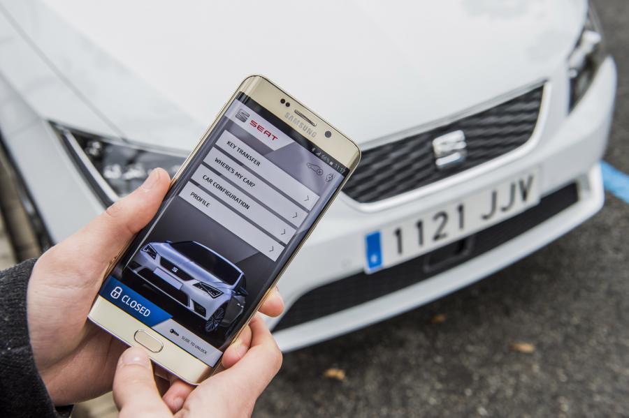 """samsung SEAT, SAMSUNG и SAP създават """"свързана кола"""" на бъдещето А1 Блог"""