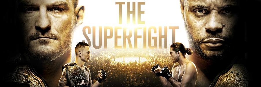 UFC отбелязва своята 25-годишнина с UFC 226, в която ще видим един superfight, битка за титлата в категория перо и още много интригуващи двубой, които предвещават зрелищни нокаути.