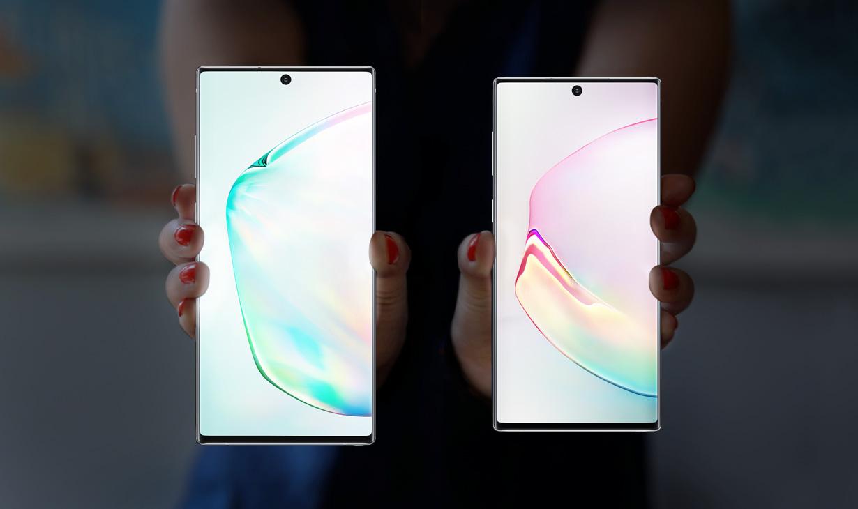 Към своята фамилия от смартфони Samsung присъединява и новите Galaxy Note10 и Galaxy Note10+. Те се отличават с най-мощния хардуер, който смартфоните на Samsung са предлагали досега, като ще се възползват от него с доста софтуерни функции.