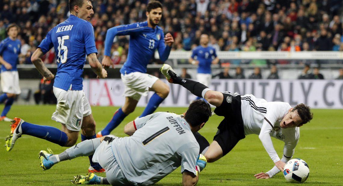 Германия Италия Евро 2016