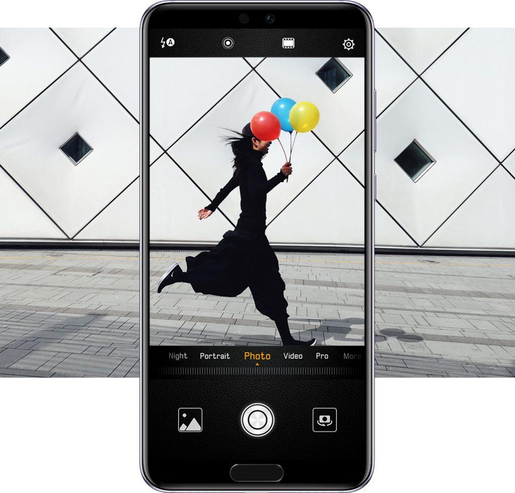 Huawei Huawei хвърля ръкавица на професионалните фотоапарати със серията P20 А1 Блог