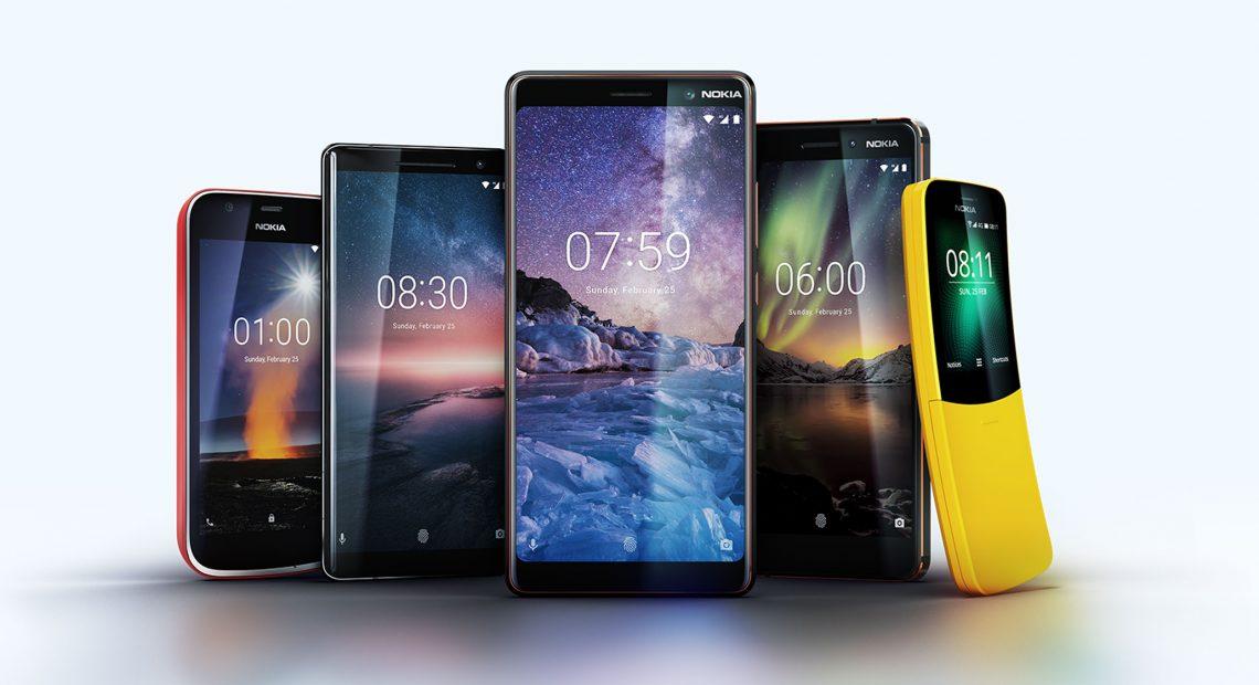 Препратки към миналото и уверен поглед в бъдещето - така изглеждат смартфоните Nokia по време на Световния мобилен конгрес в Барселона.
