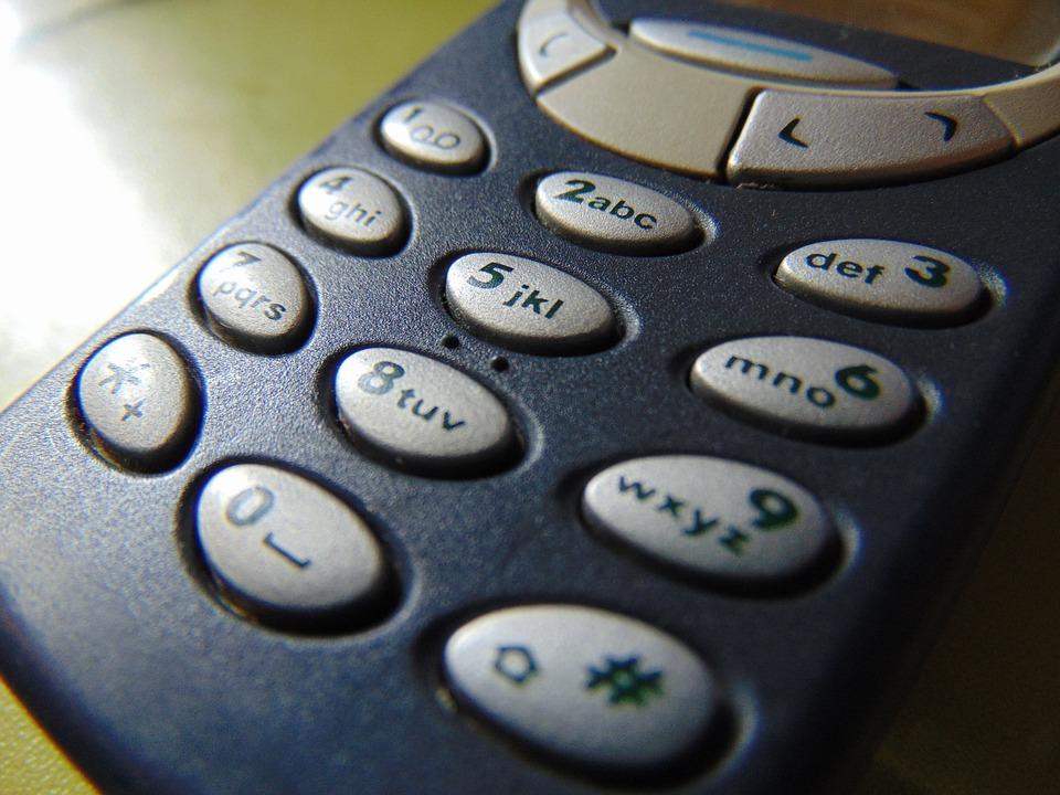 Nokia 3310 клавиатура