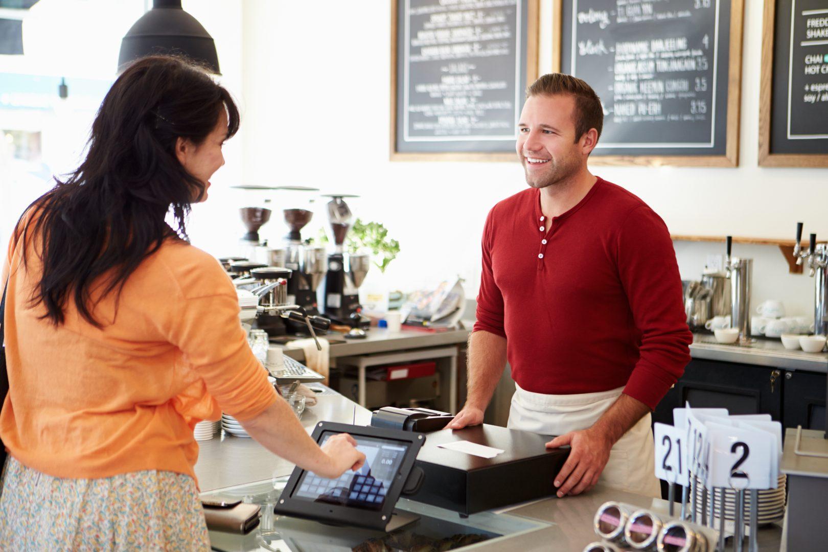 Потребители в магазин