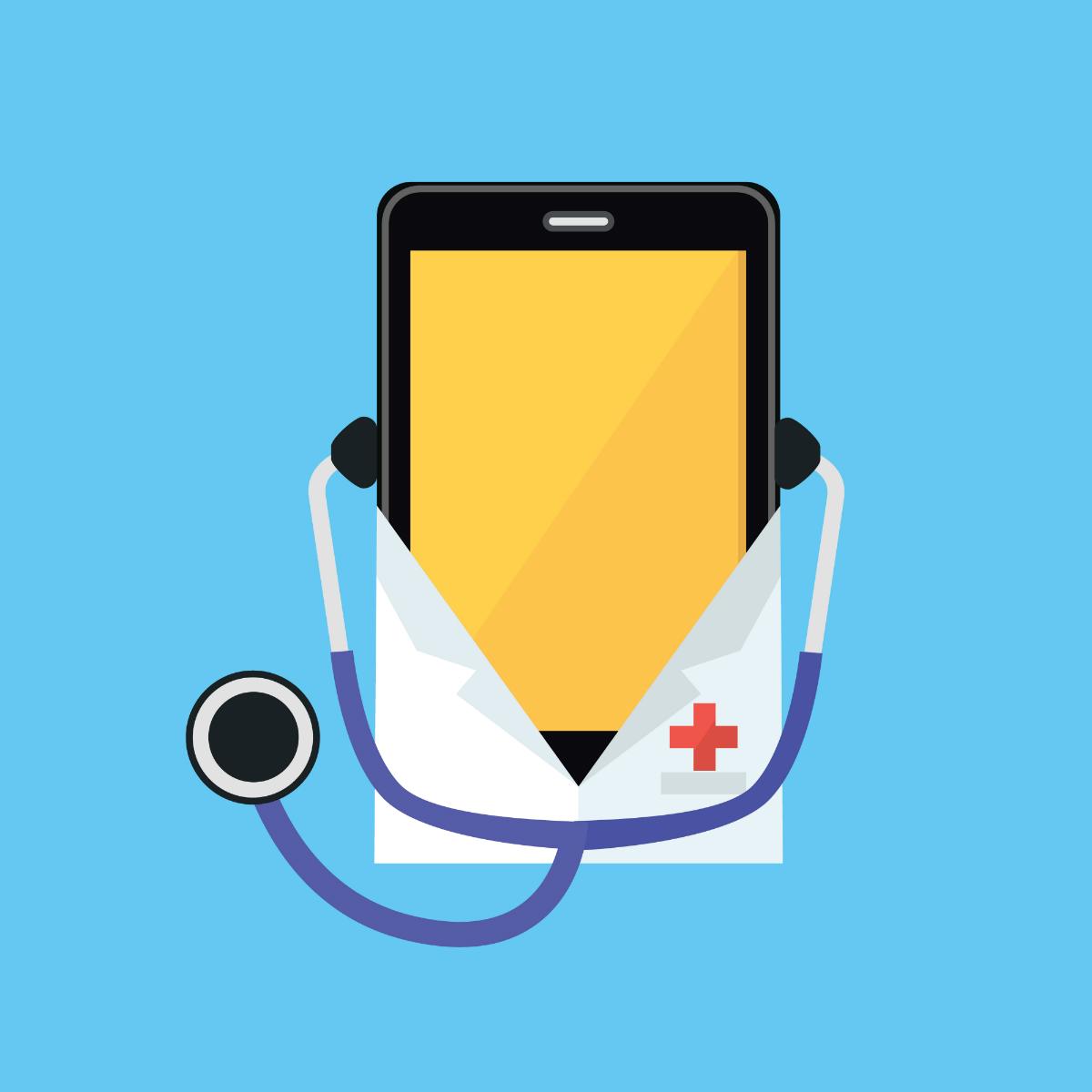 """В скоро време няма да се налага да казваме на лекаря си какво не ни е наред, а просто ще му показваме смартфона си, който ще ни е """"прегледал"""" предварително."""