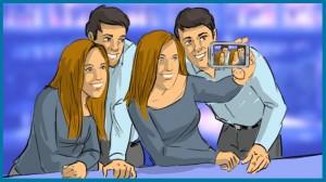 рекламен клип Как заснехме коледна реклама, която се превръща в сериал А1 Блог